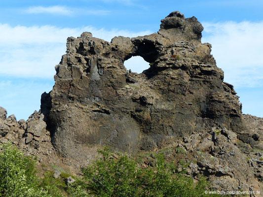 Island - Lavafeld Dimmuborgir