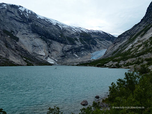 Norwegen - Jostedalsbreen Nationalpark - Nirgardsbreen Gletscher