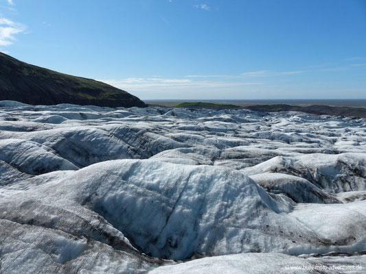 Island - Gletscher Svinafellsjökull