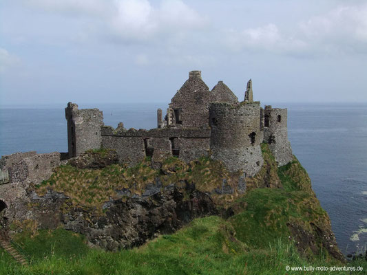 Irland - Dunluce Castle - Co. Antrim