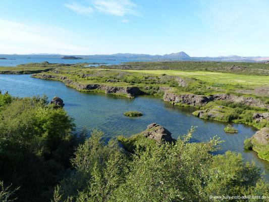 Island - Uferstreifen Höfði