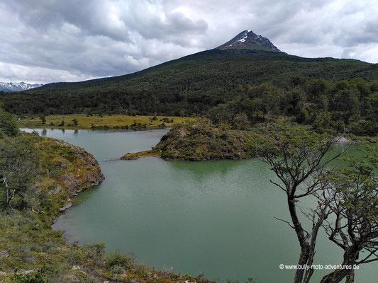 Argentinien - Parque Nacional Tierra del Fuego - Mirador de la Laguna Verde