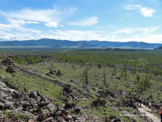 Mongolei - Vulkan Khorgo-Uul
