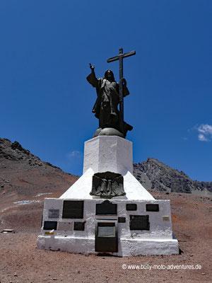 Argentinien - Statue Cristo Redentor de los Andes