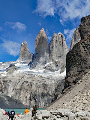 Chile - Parque Nacional Torres del Paine - W-Trek - Base de las Torres