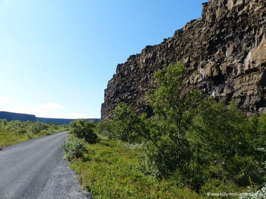 Island - Ásbyrgi-Schlucht
