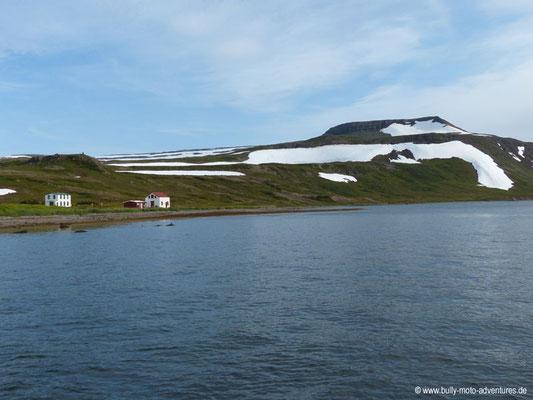 Island - Hornstrandir - Etappe 1 - Veiðileysufjörður nach Hornvík - Hesteyri