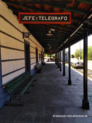 Argentinien - San Rafael - Eisenbahnmuseum