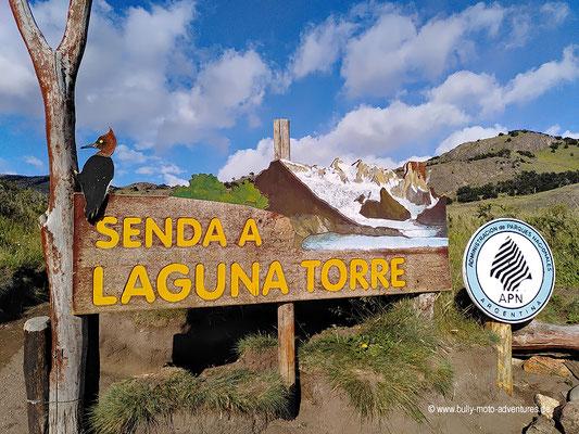 Argentinien - Parque Nacional Los Glaciares - Senda a Laguna Torre