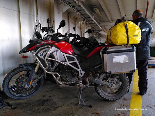 Chile - Fährfahrt von Punta Arenas nach Porvenir