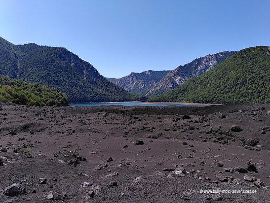 Chile - Parque Nacional Conguillío - Straße R-925-S - Laguna Verde