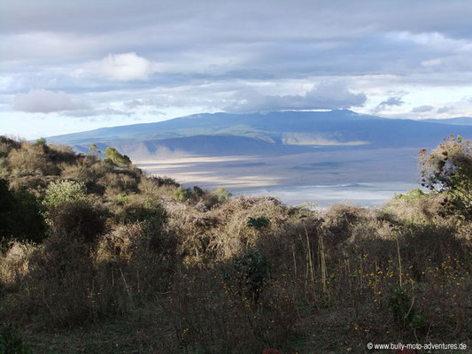 Tansania - Safari-Tour - Ngorongoro Krater