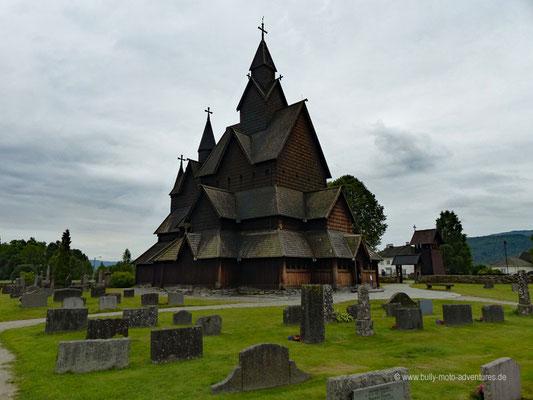 Norwegen - Stabkirche Heddal