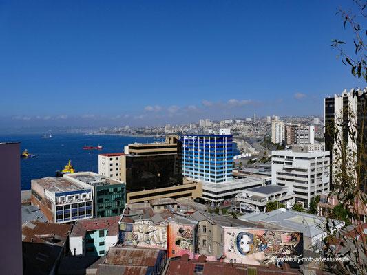 Chile - Valparíso - Blick auf die Stadt