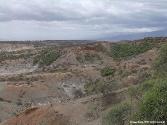 Tansania - Olduvai-Schlucht