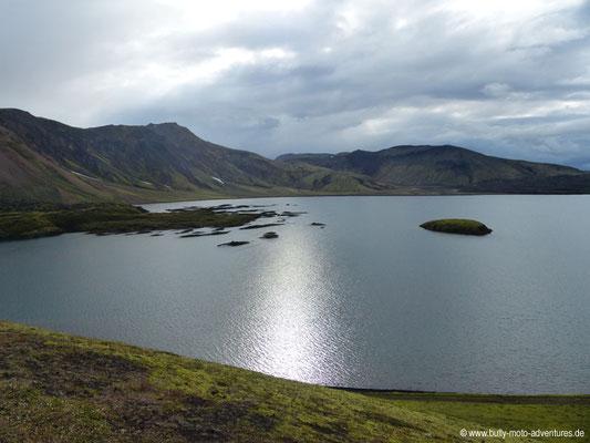 Island - Blick auf den Frostastaðavatn
