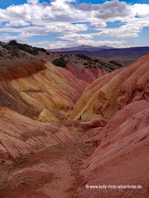 Argentinien - Parque Patagonia - Sendero Sierra de Colores