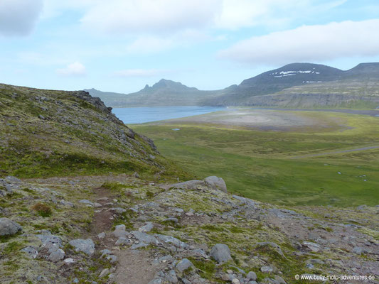 Island - Hornstrandir - Blick auf Hornvík