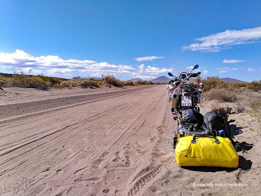 Argentinien - Straße 180 südlich von El Nihuil
