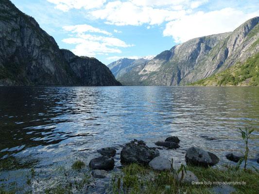 Norwegen - Campingplatz in Øvre Eidfjord