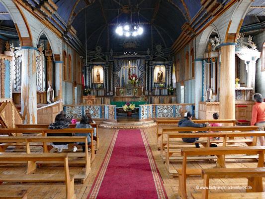 Chile - Insel Chiloé - Achao - Holzkirche Santa María de Loreto