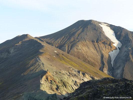 Island - Landmannalaugar - Blick auf Blánúkur