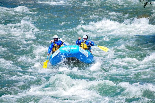Argentinien - Rafting auf dem Río Atuel