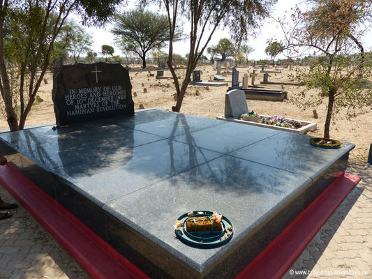 Namibia - Windhoek - Old Location Cemetery