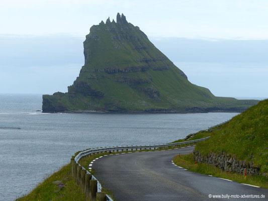 Färöer Inseln - Vágar - Auf dem Weg nach Gásadalur