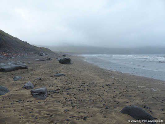 Island - Hornstrandir - Strand von Hlöðuvík