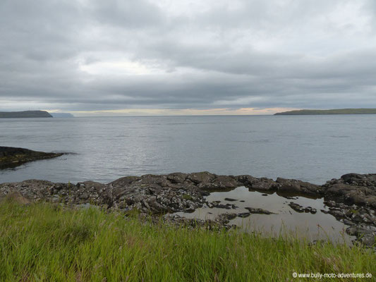 Färöer Inseln - Streymoy - Campingplatz Tòrshavn