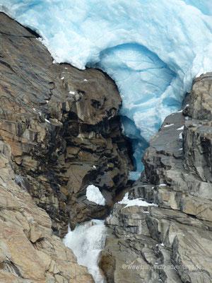 Norwegen - Jostedalsbreen Nationalpark - Gletscher Brikdalsbreen