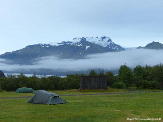 Island - Skaftafell Nationalpark - Campingplatz