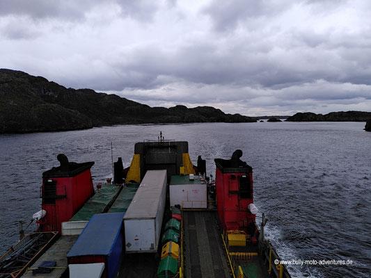 Chile - Fährfahrt von Puerto Natales nach Puerto Montt - Tag 1 - Angostura White