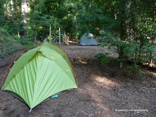 Chile - Parque Nacional Huerquehue - Camping am Lago Tinquilco