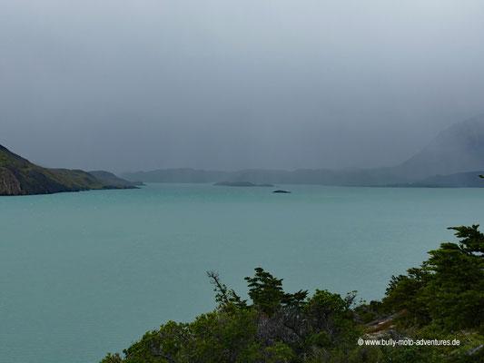 Chile - Parque Nacional Torres del Paine - W-Trek - Wanderung zum Camping Francés - Lago Nordenskjöld