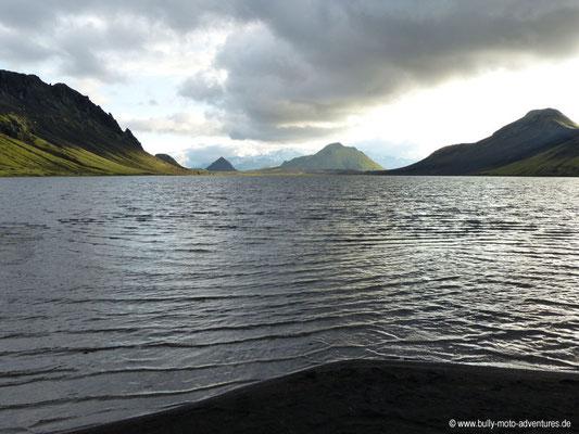Island - Laugavegur - Etappe 2 - Hrafntinnusker nach Álftavatn - Álftavatn
