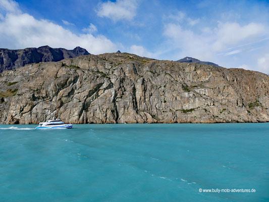 Argentinien - Bootstour Todos Los Glaciares