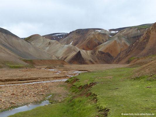 Island - Landmannalaugar - Schlucht Grænagil
