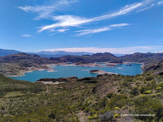 Chile - Straße 265 - Blick auf ein Bergwerk