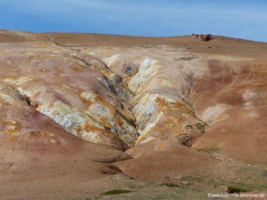 Island - Vulkansystem Krafla - Solfataren