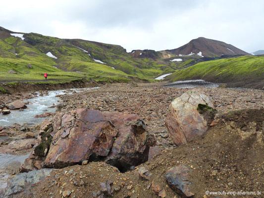 Island - Laugavegur - Furt Grashagakvísil
