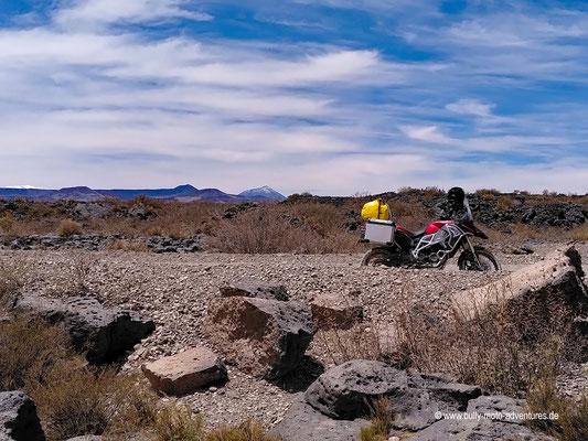 Argentinien - Ruta 40 südlich von Bardas Blancas
