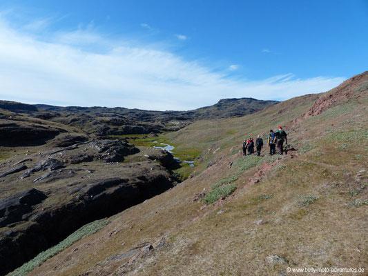 Grönland - Wanderung von Qassiarsuk nach Tasiasuaq