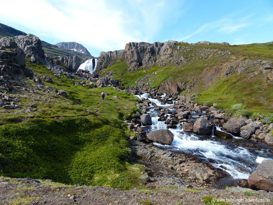 Island - Wanderung in Vestdalur