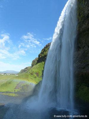 Island - Wasserfall Seljalandsfoss