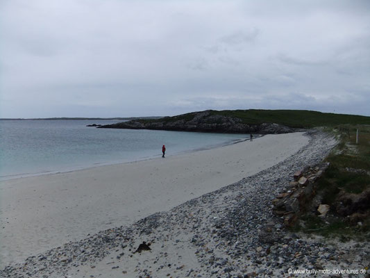 Irland - Strand am Ende der Sky Road - Co. Galway