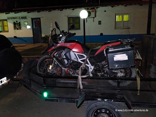 Argentinien - El Nihuil - Rücktransport nach San Rafael