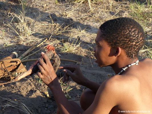 Botswana - Bushman Walk mit den San