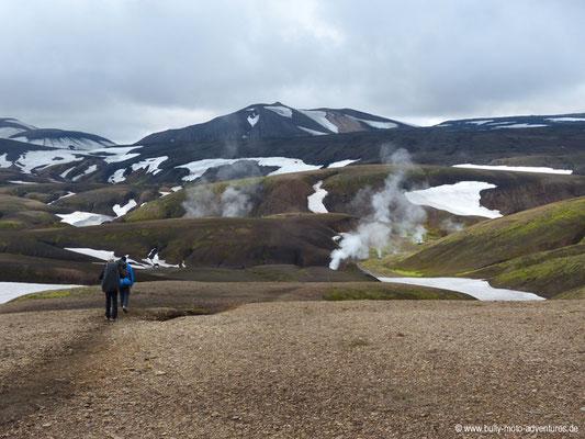 Island - Laugavegur - kurz vor Stórihver